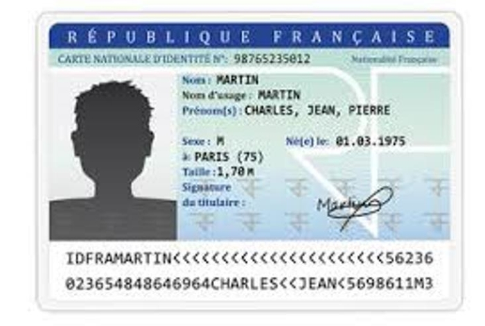 CARTES NATIONALES D'IDENTITE