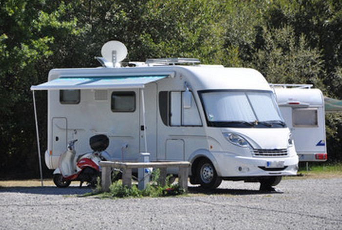 L'aire de camping car
