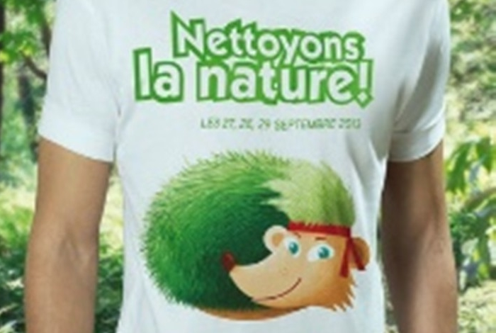 OPÉRATION « NETTOYONS LA NATURE 2018 »