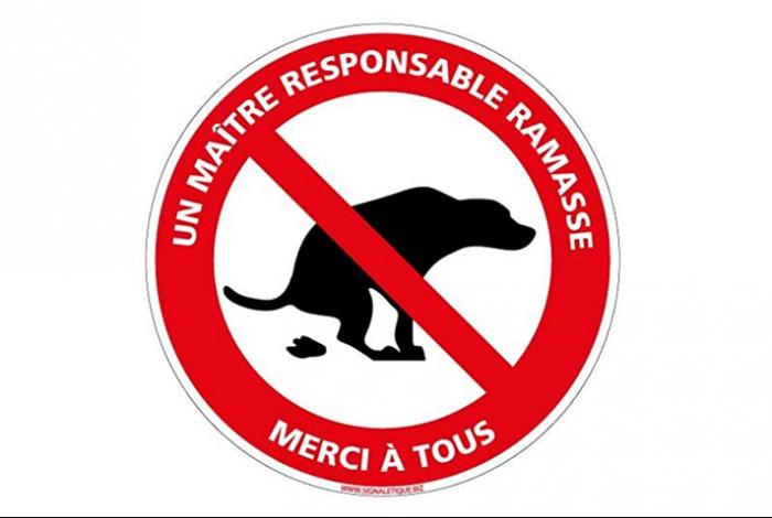 Stop aux déjections canines