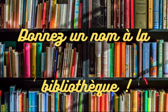 Avez-vous des idées de nom pour la bibliothèque ?